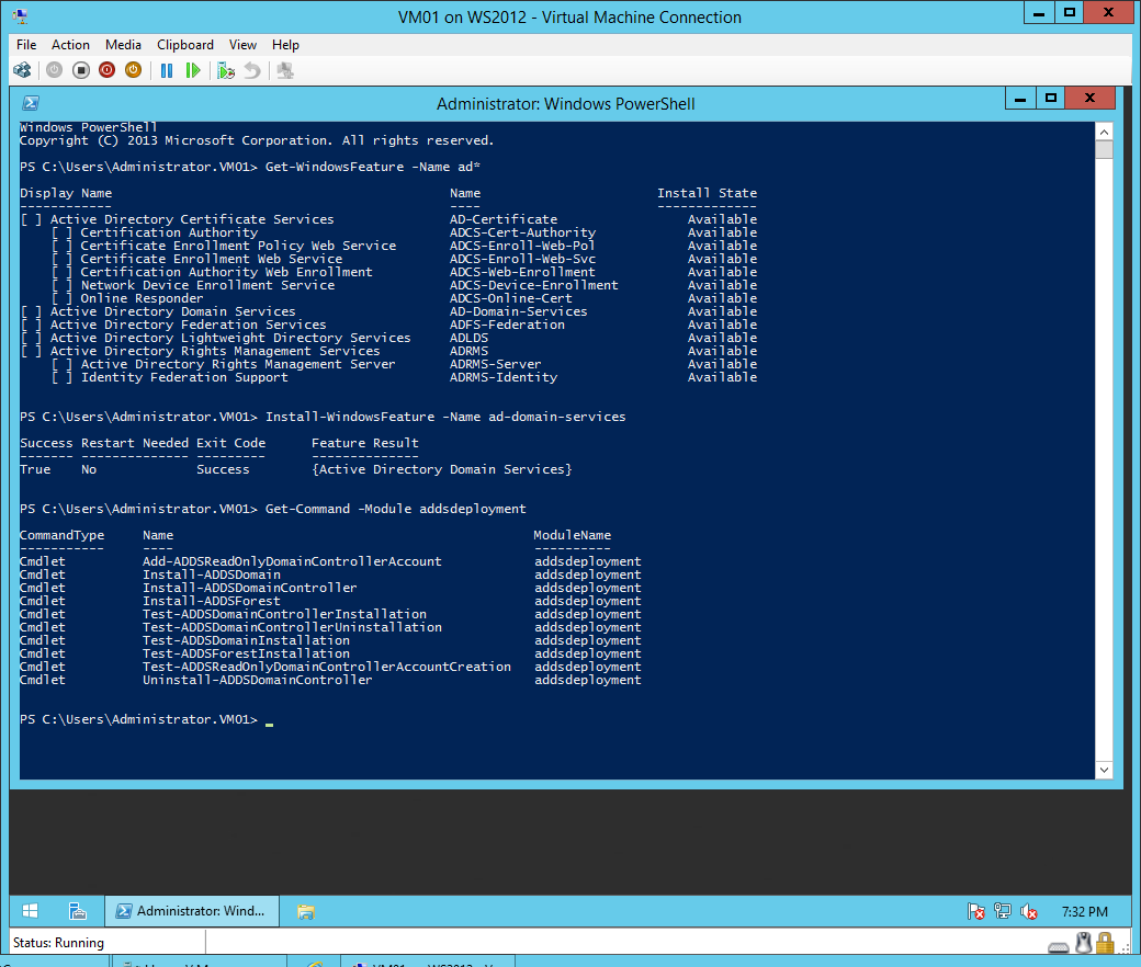 Configuring a single windows server 2012 r2 active directory validate your environment before active directory installation and test for prerequisites 1betcityfo Gallery