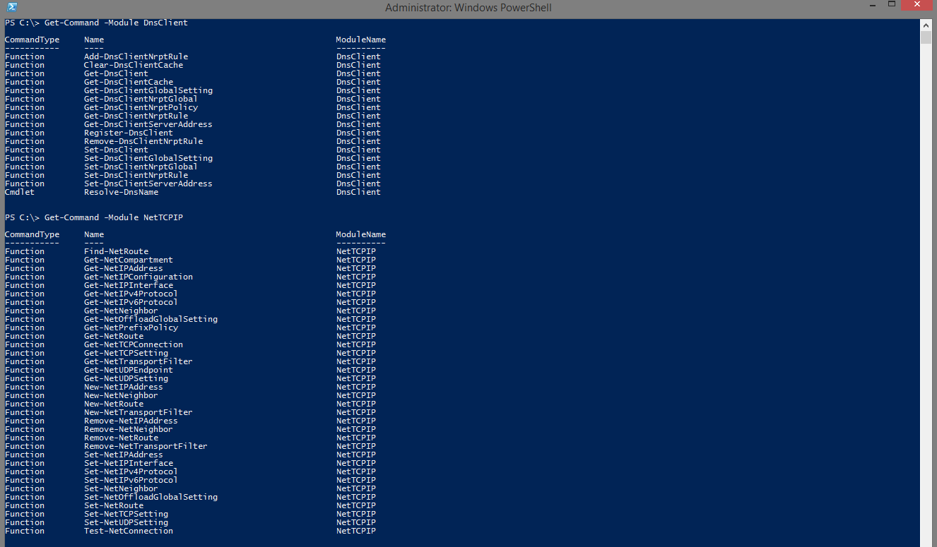 Configuring Network Adapter TCP/IP Settings using Powershell