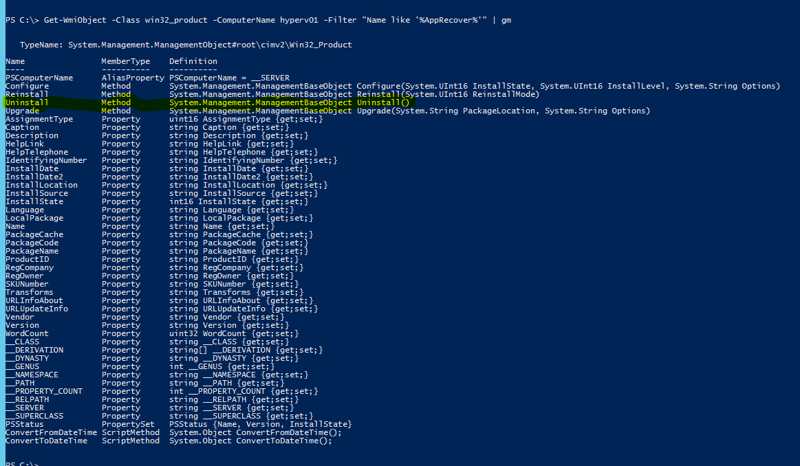 Uninstalling Software with Powershell  | Chinny Chukwudozie