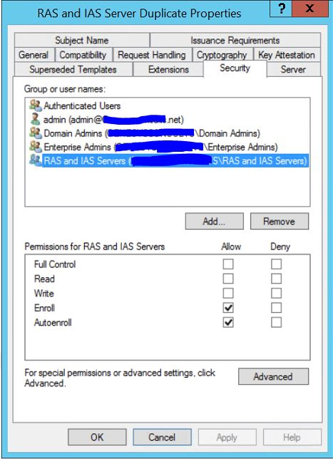 Secure wireless access and authentication with radius on ws2012r2 7 back on the certificate authority page expand the ca name and then right click certificate templates select new and then click certificate template yadclub Image collections