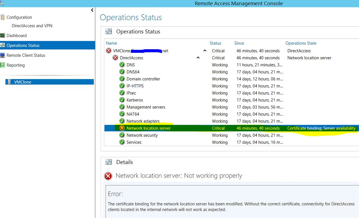 Resolving Windows Serv...